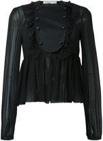 Francesco Scognamiglio sheer blouse