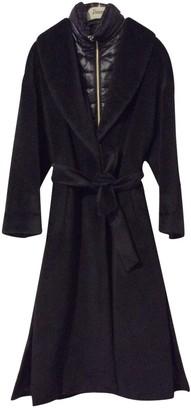 Herno Black Wool Coat for Women