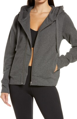 Zella West Coast Asymmetrical Zip Hoodie