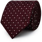 Reiss Xaviar Geometric Silk Tie