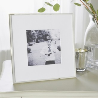 "The White Company Fine Silver Photo Frame 5x5"", Silver, One Size"