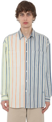 J.W.Anderson Oversize Striped Linen Shirt
