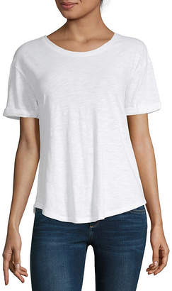 A.N.A Tall Womens Short Sleeve T-Shirt
