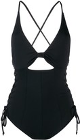 Marysia Swim cut out detail one-piece swimsuit