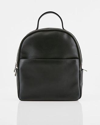 Le Château Saffiano Faux Leather Backpack