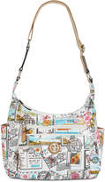 Giani Bernini Coated Canvas Hobo, Created for Macy's