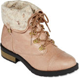 Arizona Daisy Womens Lace-Up Boots
