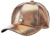 Charlotte Russe Metallic Baseball Hat