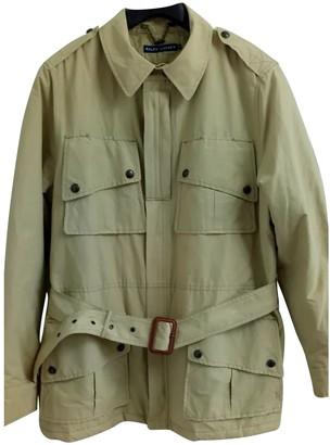 Ralph Lauren Beige Cotton Coat for Women Vintage