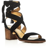 Splendid Janet Crisscross Ankle Strap Block Heel Sandals