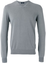 Fay V-neck jumper - men - Cotton - 50