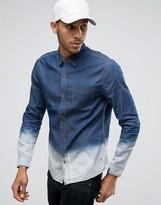 Bellfield Dip Dye Denim Shirt