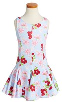 Kate Mack Girl's Cherry Print Scuba Dress