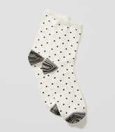 LOFT Dotted Spacedye Crew Socks