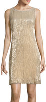 Studio 1 Sleeveless Sequin Sheath Dress