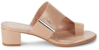 Calvin Klein Daniela Leather Sandals