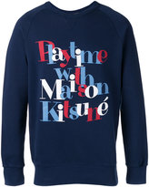 MAISON KITSUNÉ Playtime sweatshirt - men - Cotton - S