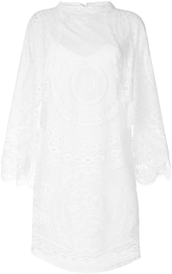 Chloé scalloped crochet dress
