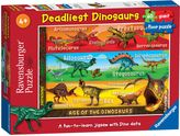 Ravensburger Deadliest Dinosaurs Giant 60pc Floor Puz