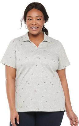 Croft & Barrow Plus Size Polo Shirt