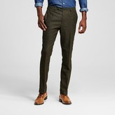 WD·NY Black Men's Green Tweed Fleck Pants - WD-NY Black