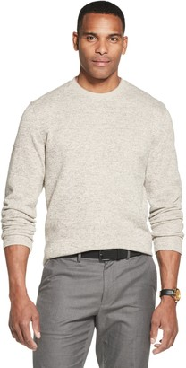 Van Heusen Men's Flex Sweater Fleece Crewneck