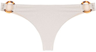 MC2 Saint Barth Evelyn glitter bikini bottoms