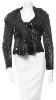 Valentino Sequin Draped Jacket w/ Tags