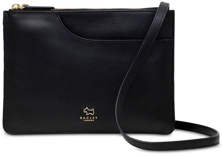 cd07f96ca6e London Pockets Medium Zip-Top Leather Crossbody