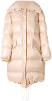 Nina Ricci Manteau coat - women - Feather Down/Polyamide - 36