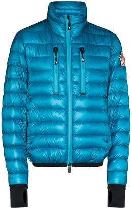 MONCLER GRENOBLE Hers zipped quilted jacket