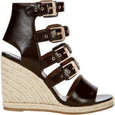 Laurence Dacade Rosario Buckled Wedge Espadrilles