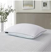 Serta 2pk 233 Thread Count Summer & Winter White Goose Feather Bed Pillow - Jumbo - White