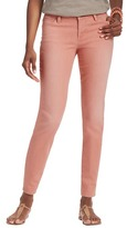 """LOFT Petite Curvy Skinny Ankle Jeans in Strawberry with 25"""" Inseam"""