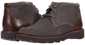 Nunn Bush Buchanan Plain Toe Chukka (Black) Men's Boots