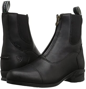 Ariat Heritage IV Zip H2O (Black) Cowboy Boots
