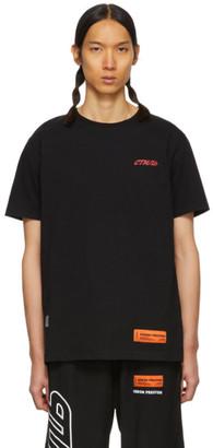 Heron Preston Black Style Regular T-Shirt