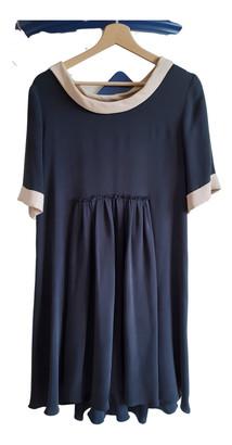 Cacharel Black Silk Dresses
