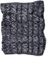 Muk Luks Cable Knit Funnel Scarf