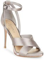 Imagine Vince Camuto Dairren Satin Ankle Strap Dress Sandals