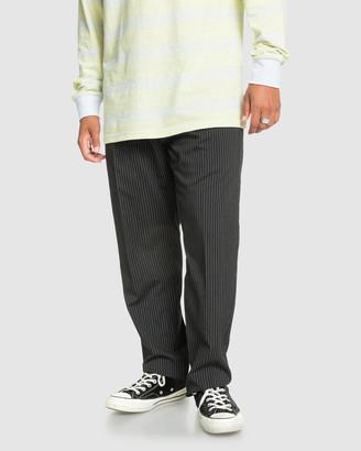 Quiksilver Mens Originals Suit Tapered Cropped Suit Pant
