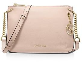 MICHAEL Michael Kors Lillie Large Leather Messenger Bag