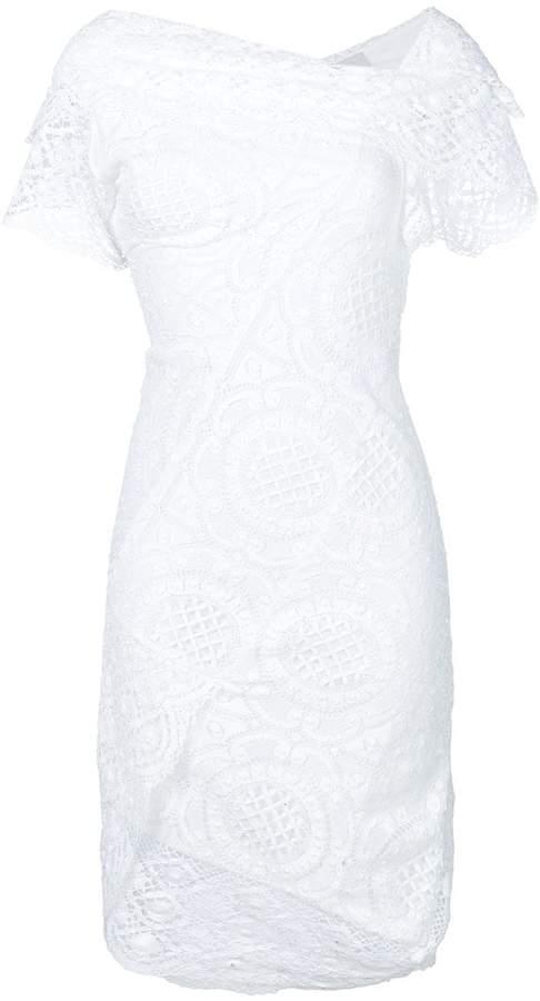 Vivienne Westwood asymmetric lace dress