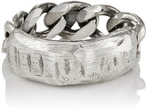 Emanuele Bicocchi Men's Sterling Silver ID Ring
