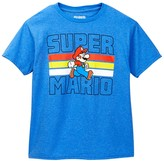JEM Super Mario Super Stripes Graphic Tee (Big Boys)