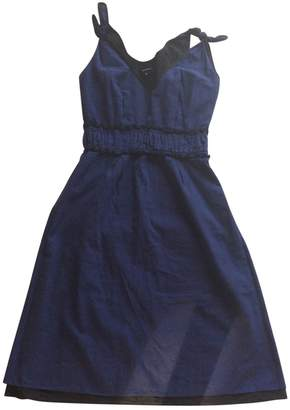 Bruuns Bazaar Blue Cotton Dress for Women