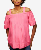A Pea in the Pod Maternity Off-The-Shoulder Blouse