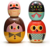 Little Baby Company Retro Style Stacking And Or Nesting Doll Set Mother