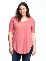 Old Navy Relaxed Curved-Hem Plus-Size Tunic