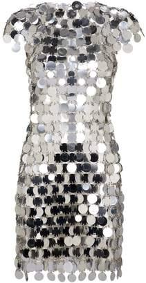Paco Rabanne Sequin Mini Dress